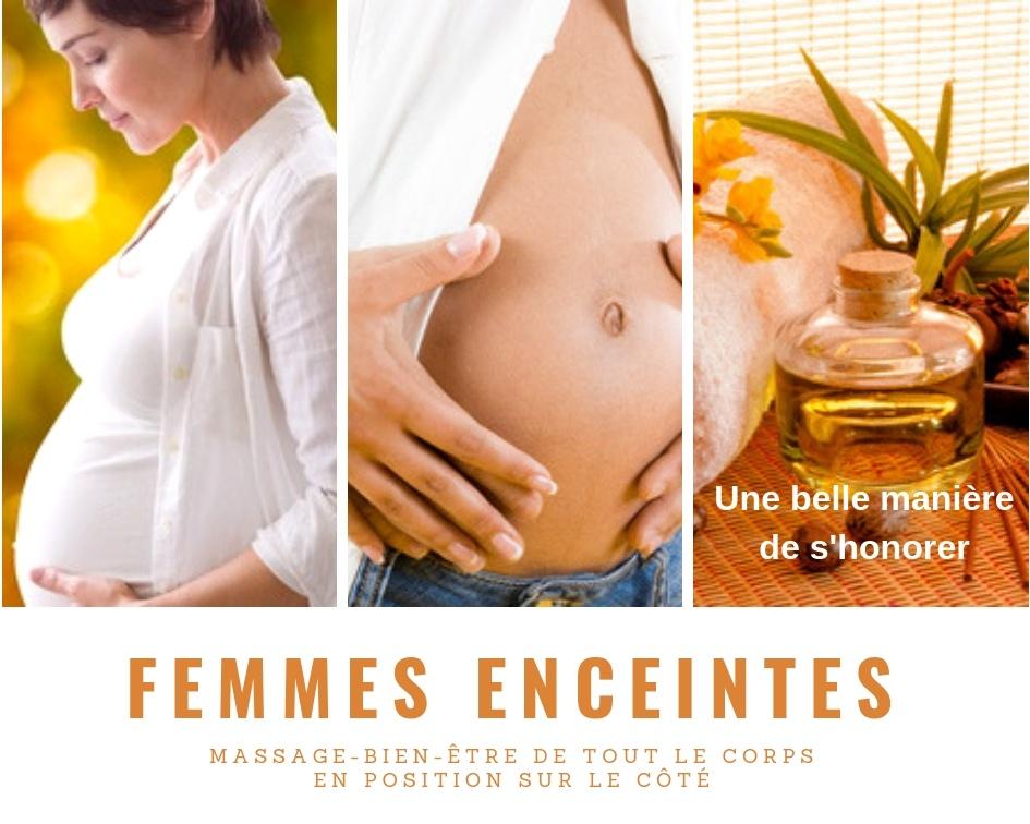 Massage femmes enceintes domicile