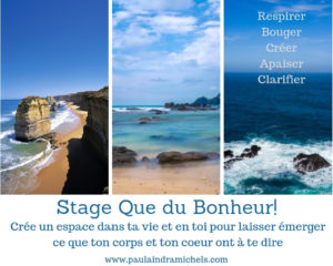 Stage Que du Bonheur!
