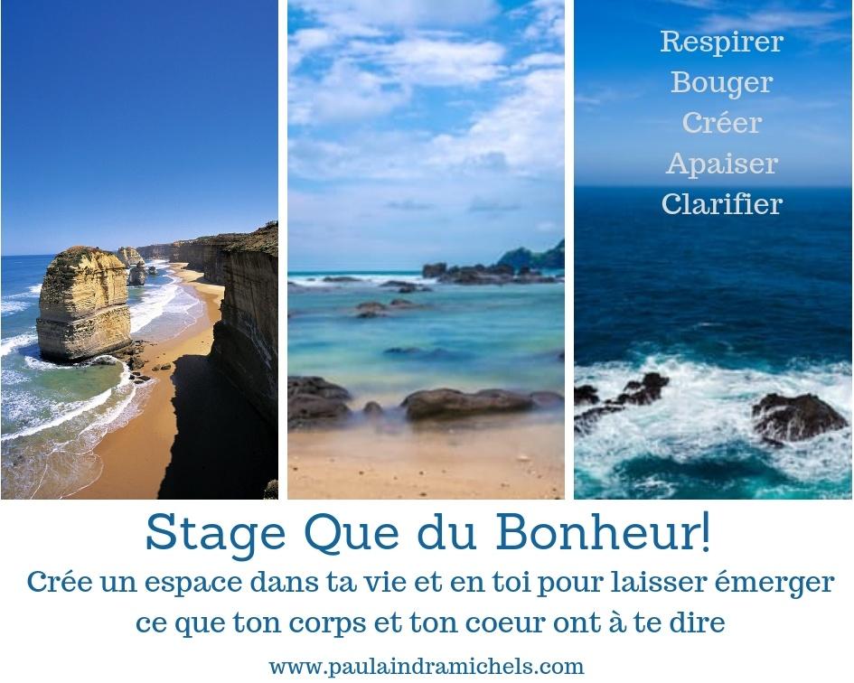Visuel du Stage Que du Bonheur!