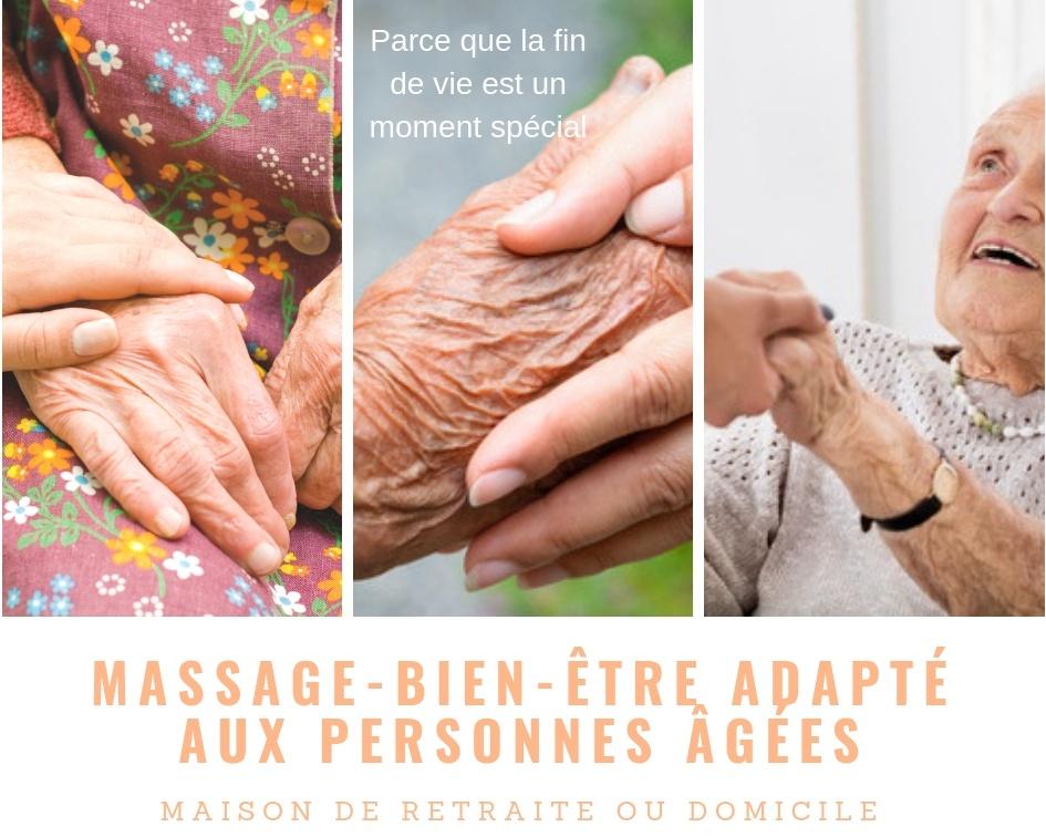 Massage personnes âgées Paula Indra Michels